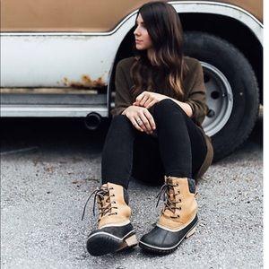 Sorel slimpack II waterproof boots